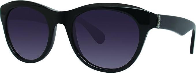 Amazon.com: Vera Wang anteojos de sol nencia Negro 53 MM ...