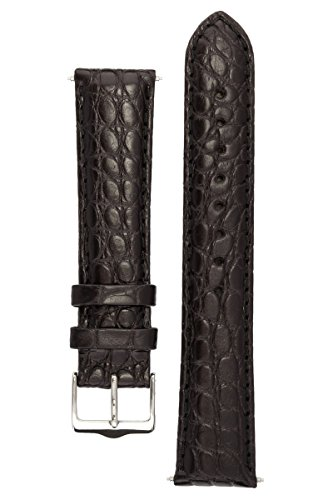 signature-desire-in-black-24-mm-watch-band-replacement-watch-strap-genuine-alligator-leather-silver-