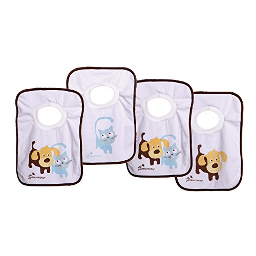 Dreambaby L539 Pullover Bibs - Pets - 4 Pack
