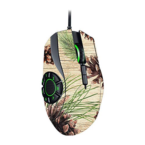 MightySkins Skin Compatible with Razer Naga Hex V2 Gaming Mouse - Pine Collage | Protective, Durable, and Unique Vinyl Decal wrap Cover | Easy to Apply, Remove, and Change Styles | Made in The USA