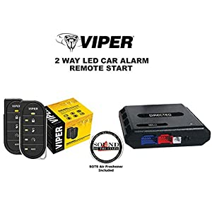Viper 5806V 2 Way Auto Remote Start & Alarm w/ Bypass DBALL2 Module and a FREE SOTS Air Freshener Included