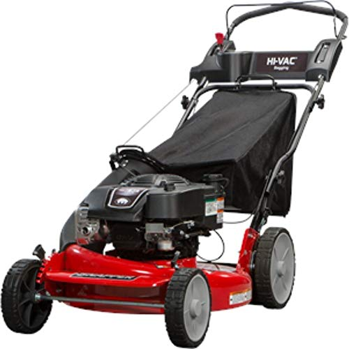 Snapper P2185020 / 7800980 HI VAC 190cc 3-N-1 Rear Wheel Drive Variable Speed Self Propelled Lawn Mower with 21-Inch Deck and ReadyStart System and 7 Position Height-of-Cut ()
