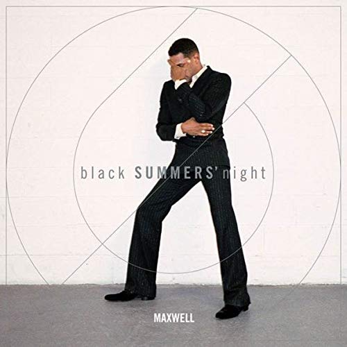Maxwell - black SUMMERS night Exclusive Autographed Photo 2× Vinyl LP
