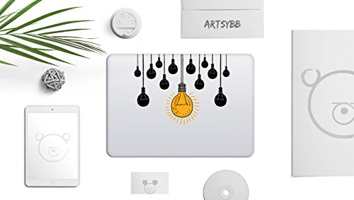 mac lightbulb sticker - 4