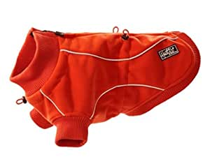Hurtta Pet Collection 17-Inch Water Proof Fleece Jacket, Red