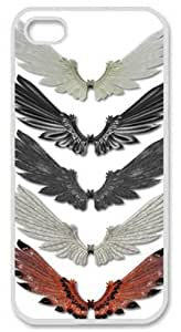 Iphone 6 plus 6 plus PC Hard Shell Case Wings Collection White Skin by Sallylotus