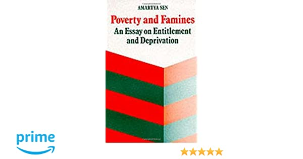 poverty and famines an essay on entitlement and deprivation  poverty and famines an essay on entitlement and deprivation 9780198284635 business development books com