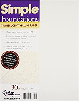 Amazon simple foundations translucent vellum paper amazon simple foundations translucent vellum paper 7426923117114 ct publishing books malvernweather Image collections
