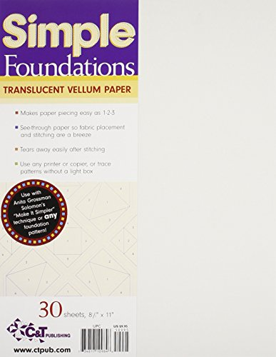 Simple Foundations Translucent Vellum Paper