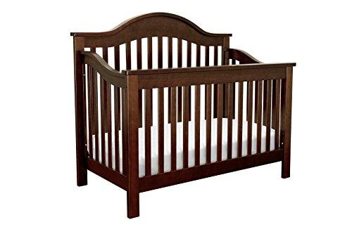 4in Crib Convertible Stages 1 (DaVinci Jayden 4-in-1 Convertible Crib, Espresso)
