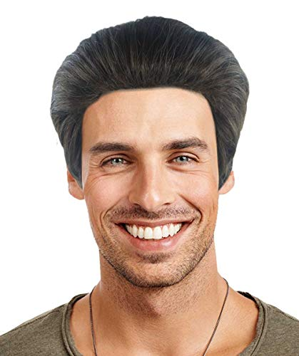 Halloween Party Online Edward Cullen Wig, Brown Adult HM-469A -