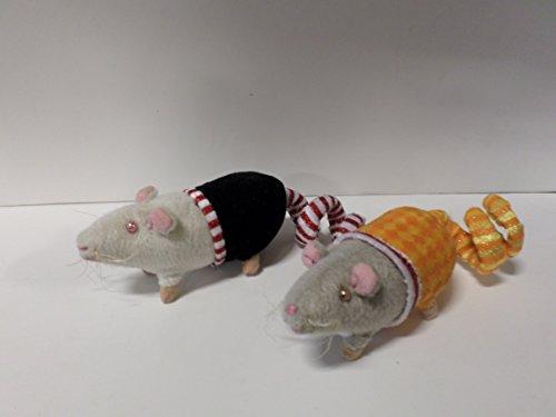 Krinkles Dept 56 - Dept 56 Krinkles by Patience BrewsterWire Tail Rat, (Set of 2) (85509)