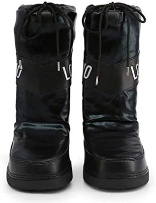 Love Moschino Ski Boot Bottes Femmes Argenté - 35/36 - Bottes de Neige