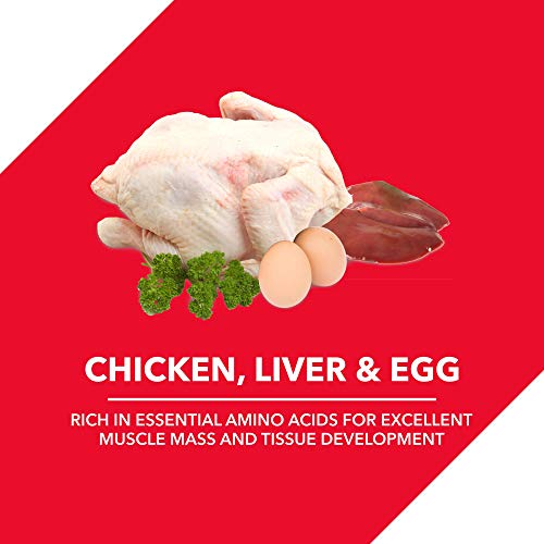 Drools Chicken and Egg Adult Dry Dog Food, 3kg + 1.2kg Free
