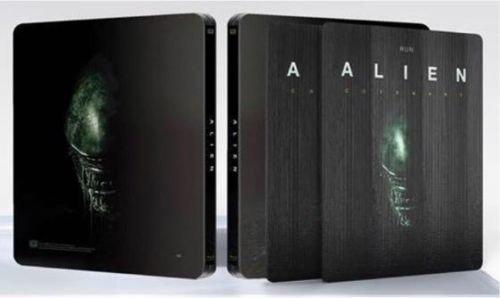 Alien Covenant   Exklusiv Limited Steelbook   3D Lenticular  400 Copies   Blu Ray