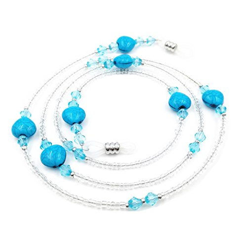 Beaded Holder - Kalevel Beaded Glasses Holder Strap Eyeglass Chain Cord Sunglass Neck Strap