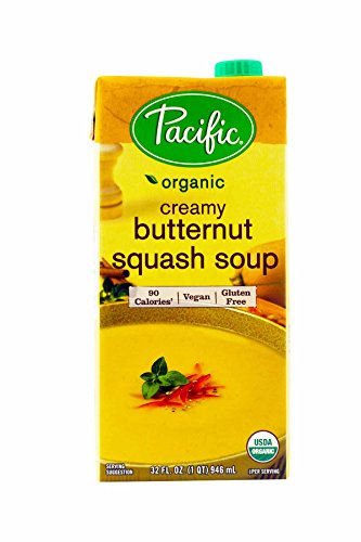Pacific Natural Foods Creamy Butternut Squash Soup, 32 oz - 2 pk - Butternut Soup
