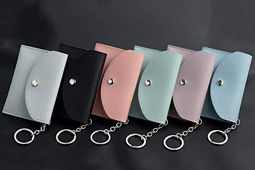 a4f52e71ef3d Small Coin Purse Keychain Wallet Change Purse Credit Card Holder ...