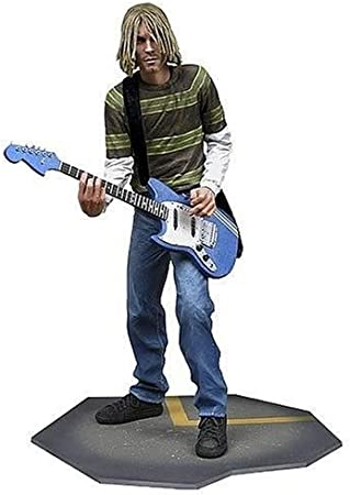 Nirvana Kurt Cobain Custom Mini Action Figure w Display Case Card /& Stand 410
