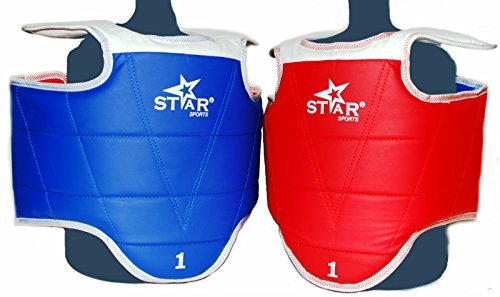 Star Sports Taekwondo WTF Sparring Gear Chest Guard (L (adults#4))