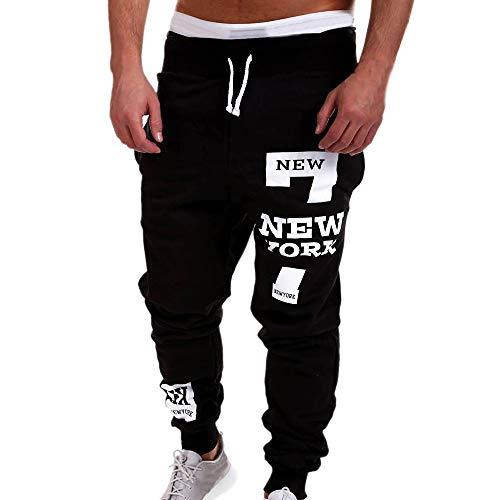 COPPEN Clearance Mens Trousers Fashion Trousers Men Pants Casual Pants Sweatpants (Aeropostale Vest Men)