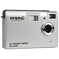 Argus DC-2185 2.1MP Digital Camera/PC Camera (Silver)
