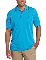 IZOD Men's Short Sleeve Solid Pique Polo