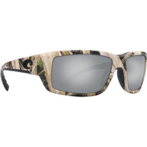(Costa Del Mar Fantail Sunglasses Mossy Oak SGB Camo/Copper Silver Mirror 580 Glass)
