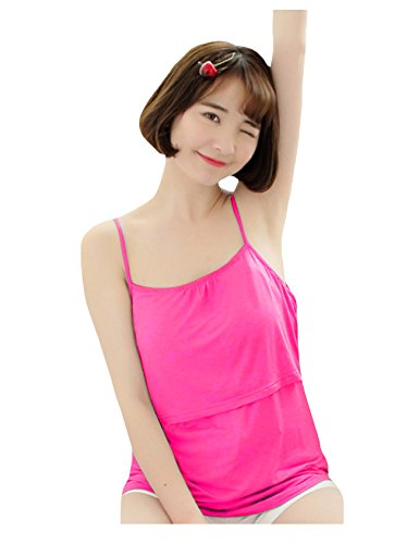 Care Taille Breast Shirt Modal bestgift Soft Maternit Stop Rose Unique Femme ExSqTnAw