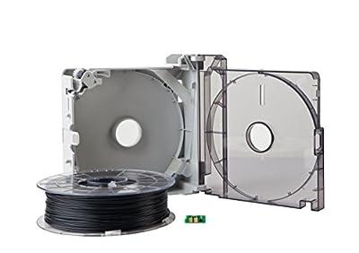 Sindoh 3DWOX Refillable Cartridge PLA black (Compatible with DP200, DP201)
