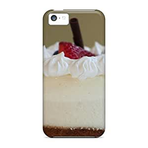 MMZ DIY PHONE CASENew JcdYlDK6892epXBh Strawberry Cheesecake Tpu Cover Case For ipod touch 5