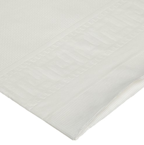 Hoffmaster 210130 Premium White Disposable Paper Tablecloth  54 by 108-inch  Rectangular  3 Ply, (Case of 25 tablecloths)