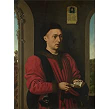 'Petrus Christus Portrait of a Young Man ' oil painting, 18 x 24 inch / 46 x 62 cm ,printed on Perfect effect canvas ,this High quality Art Decorative Canvas Prints is perfectly suitalbe for Foyer decor and Home decor and Gifts