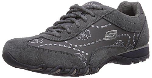 Les Esters De Vitesse Skechers Chaussures Sport Keyholes Grau (char)
