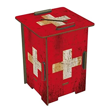 Twin Box Pot A Crayons Tirelire Suisse Werkhaus Amazon Fr