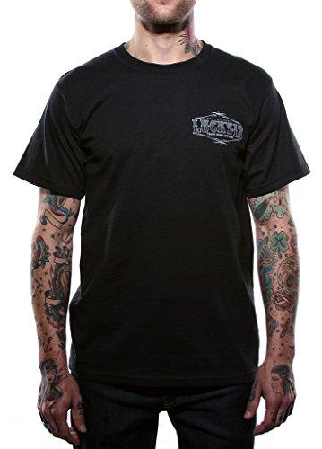 Lucky 13 Men's Pin up Queen T-Shirt M Black