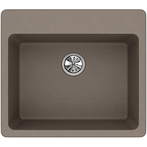 Elkay Quartz Classic ELG2522GR0 Greige Single Bowl Top Mount Sink