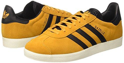 Adidas S76228 Giallo tactile Scarpe Gazelle Originals Uomo Black Yellow Ginnastica gold Met F17 core Da Basse Ez8rEqnTx