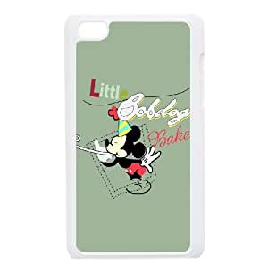 iPod Touch 4 Case White Mickey Mouse 2 JSK909077
