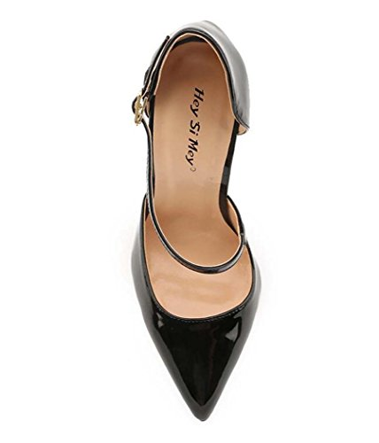 de pie Correa Mujer de de Estrecha Punta Grande Sandalias Tac con Zapatos para w8HAq0