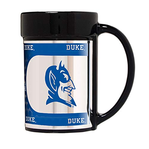 Ncaa Duke Blue Devils Football - NCAA Duke Blue Devils 15 oz Ceramic Coffee Mug with Metallic Graphics