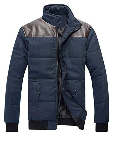 Bomber Coat Longsleeve Transition Zip Jacket Warm BoBoLily Men's Jacket Winter Comfortable Jacket Down Marine Leisure Jacket wpfXBwxq6a