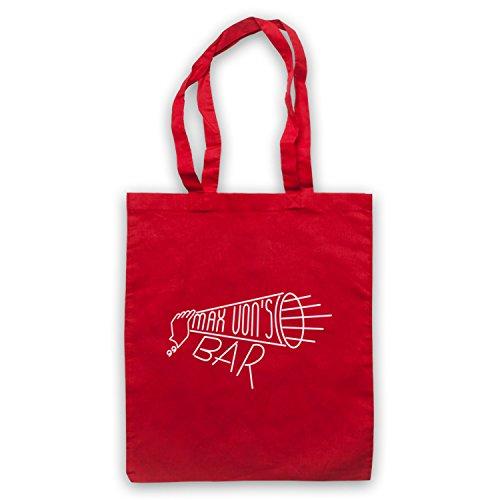 Red Von's Tote Twin Peaks Bag Max Peaks Twin Bar qxqzwgBv