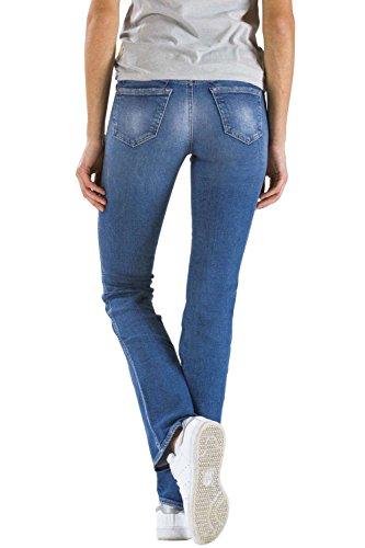 BLANCO taille taille Meltin'Pot style Jeans slim normale UK418 D0132 femme pour Var U bootcut 5wZHxFqwC