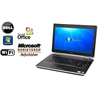 Sleek and Powerful Refurbished Dell E6420 Notebook - FAST Intel Core i7 2.7GHz CPU / 16GB DDR3 RAM / NEW 256GB SOLID STATE Drive SSD- WiFi - DVD-RW - Windows 7 Pro 64-Bit OS +MS Office LAPTOP PC