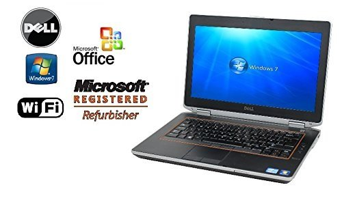 Refurbished Dell E6420 Laptop PC - Intel Core i5 2.3GHz / 16GB RAM / 'NEW' 120GB Solid State Drive Notebook SSD- WiFi - DVD/RW - Windows 7 Pro +MS Office