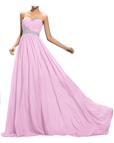 ivyd ressing Mujer de gran calidad Corazón Forma a de línea croma piedras Prom vestido Fiesta Vestido lanf para vestido de noche Perlerosa