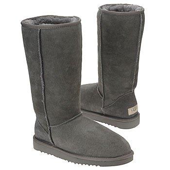Ugg Australia Classic Tall Boot (UGG Australia Women's Classic Tall Boots 6 M (US), Grey)