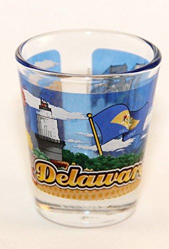 Glass Around (Delaware State Wraparound Shot Glass)