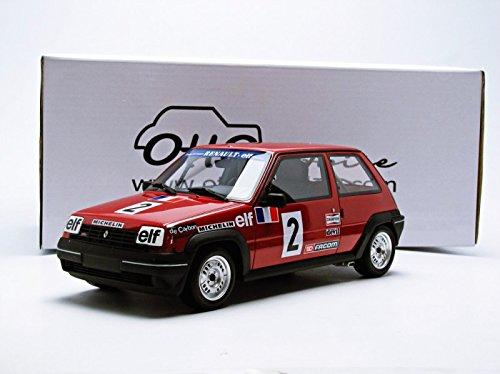 OttOmobile - OT 579 - Renault 5 GT Turbo Copa Fase 1 - 1985 - Escala - 1/18: Amazon.es: Juguetes y juegos